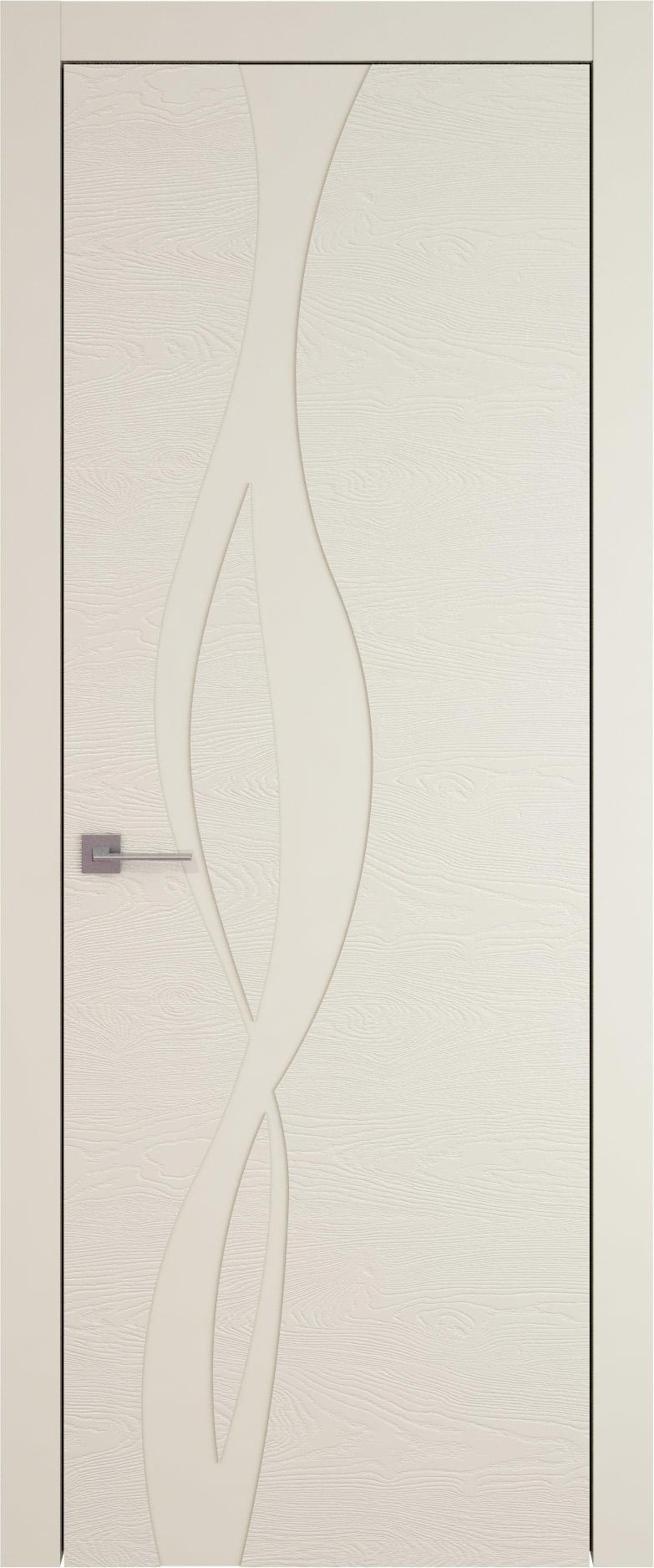 Tivoli Г-5 цвет - Жемчужная эмаль по шпону (RAL 1013) Без стекла (ДГ)