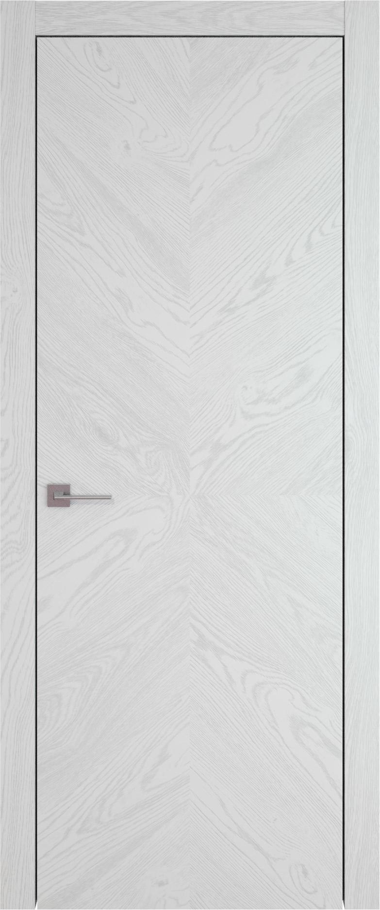Tivoli И-1 цвет - Белый ясень (шпон) Без стекла (ДГ)
