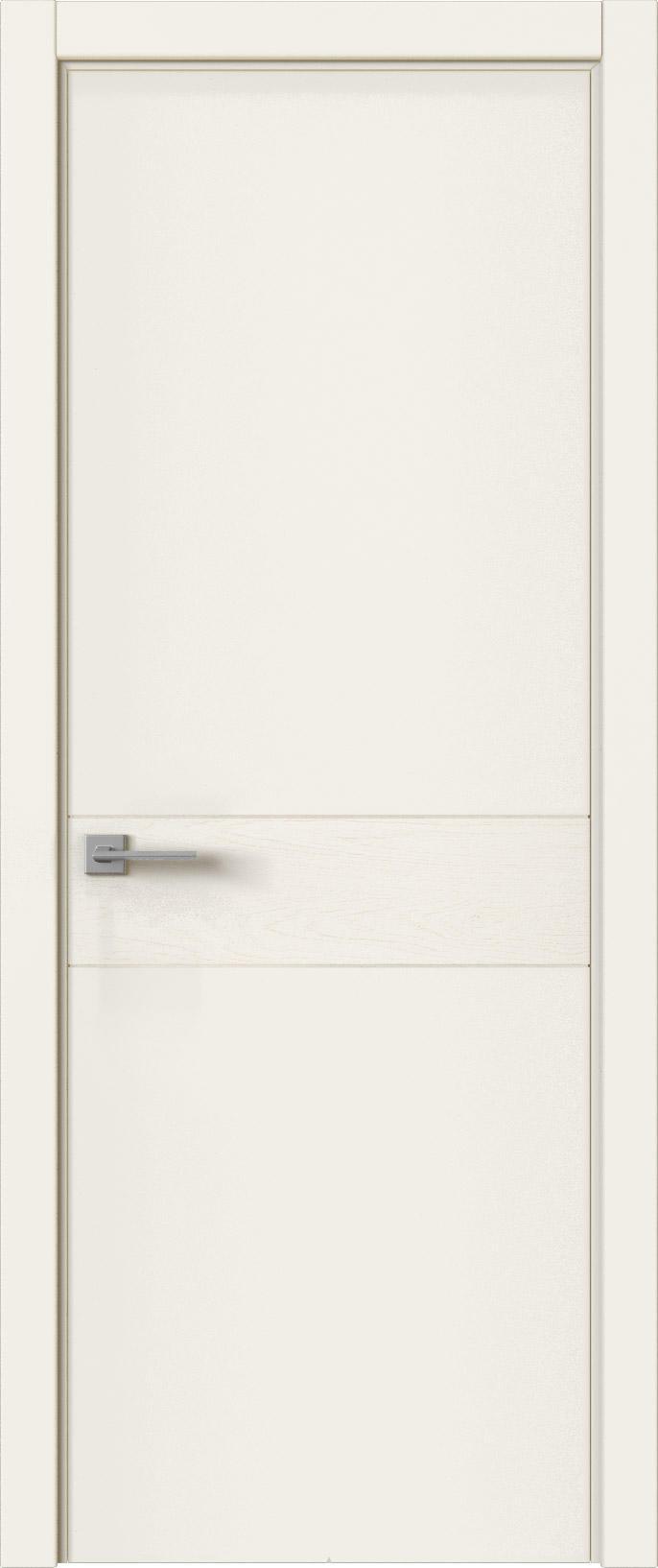 Tivoli И-2 цвет - Бежевая эмаль-эмаль по шпону (RAL 9010) Без стекла (ДГ)