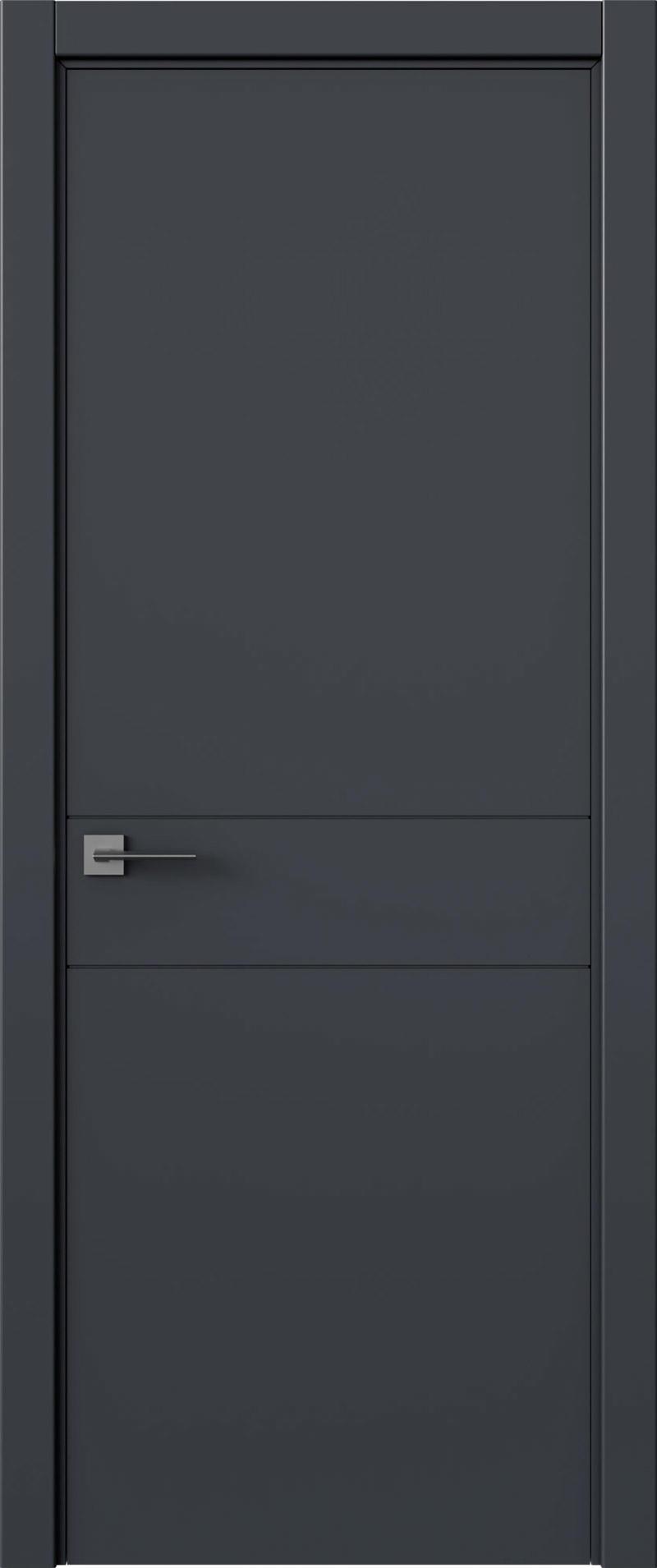 Tivoli И-2 цвет - Графитово-серая эмаль (RAL 7024) Без стекла (ДГ)