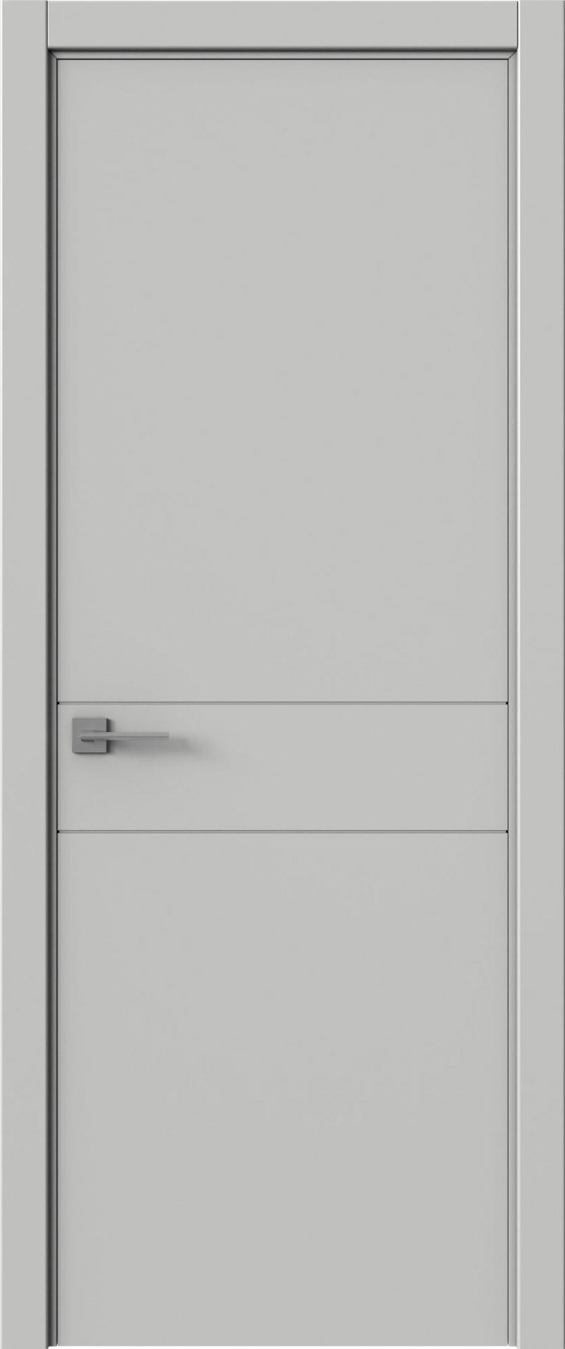 Tivoli И-2 цвет - Серая эмаль (RAL 7047) Без стекла (ДГ)