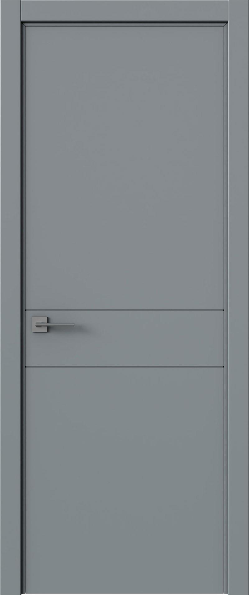 Tivoli И-2 цвет - Серебристо-серая эмаль (RAL 7045) Без стекла (ДГ)