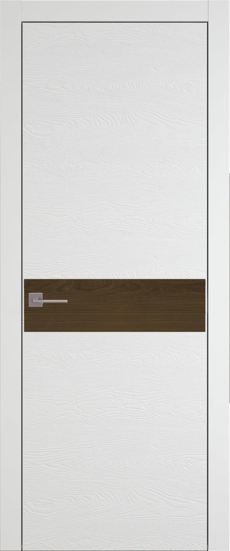 Tivoli И-4 цвет - Белая эмаль по шпону (RAL 9003) Без стекла (ДГ)