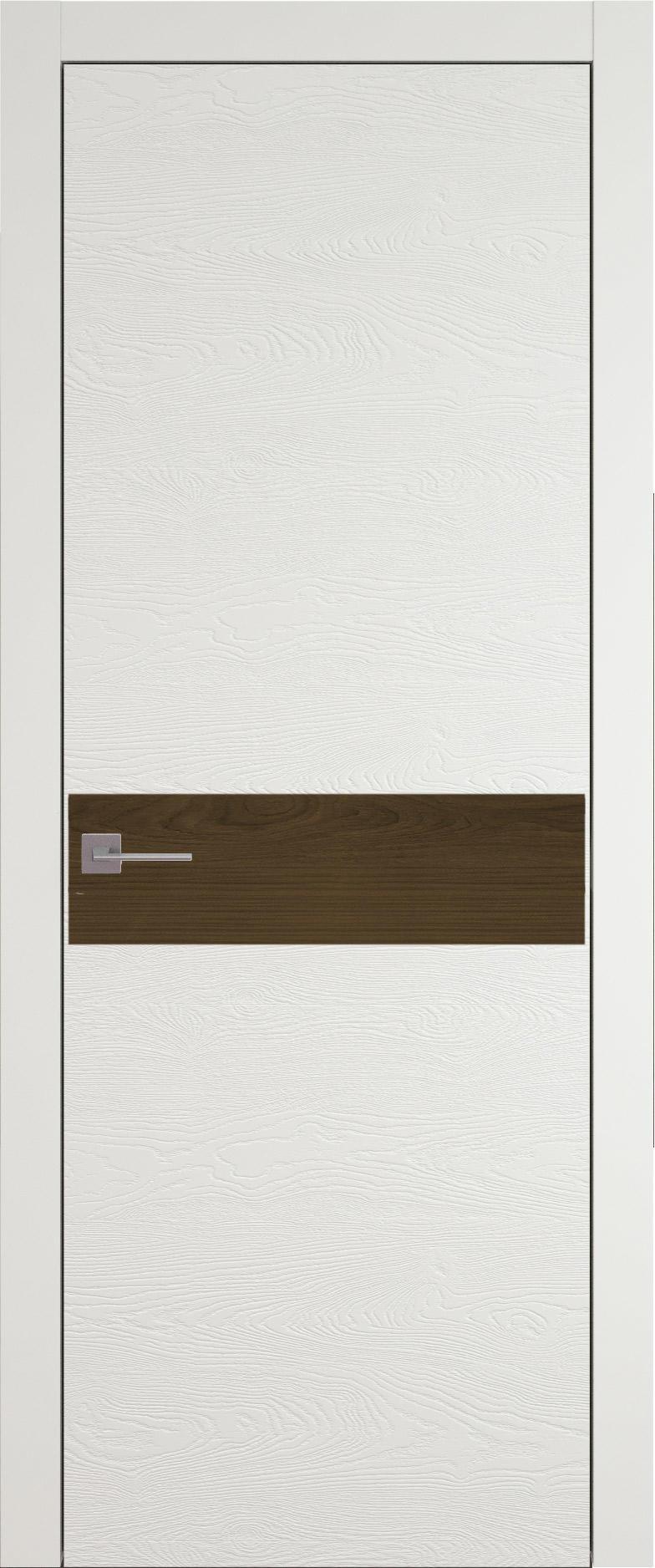 Tivoli И-4 цвет - Бежевая эмаль по шпону (RAL 9010) Без стекла (ДГ)