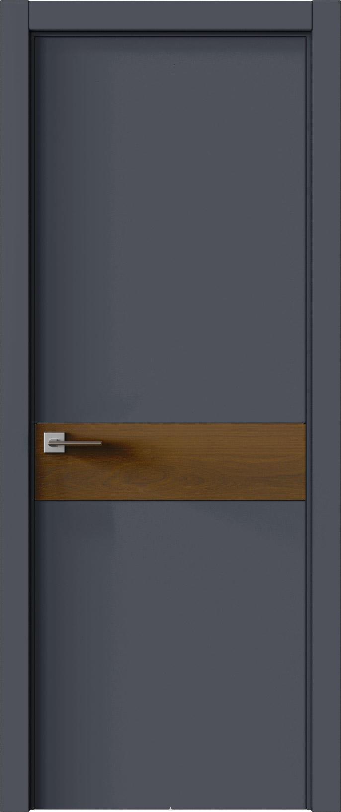 Tivoli И-4 цвет - Графитово-серая эмаль (RAL 7024) Без стекла (ДГ)