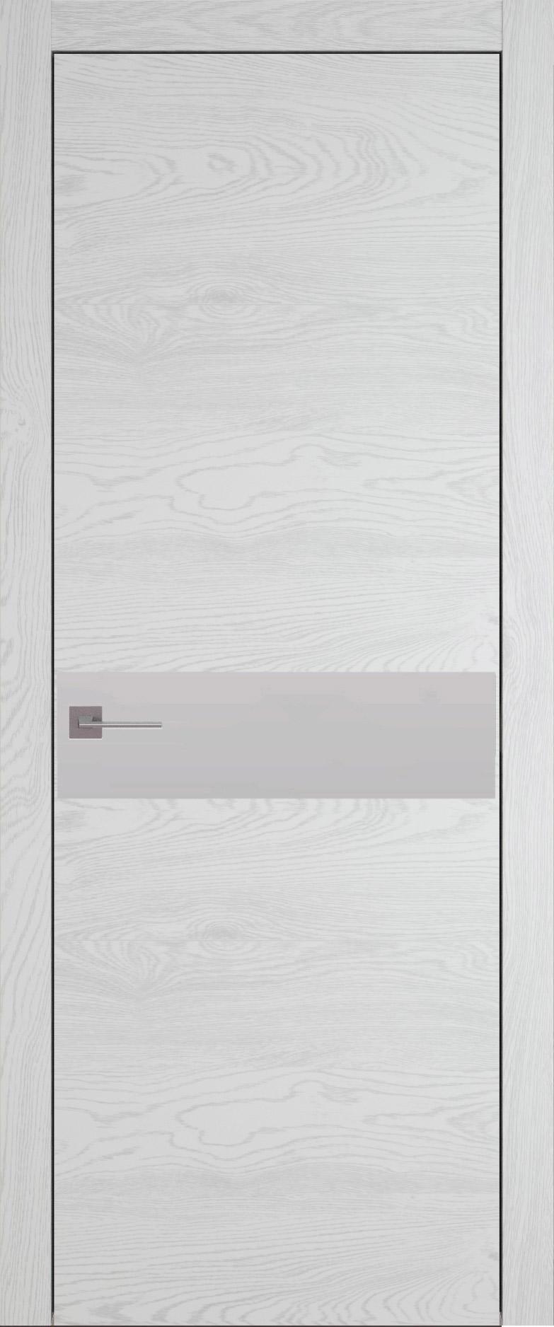 Tivoli И-4 цвет - Белый ясень (шпон) Без стекла (ДГ)