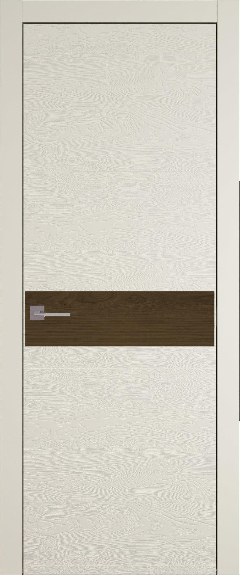 Tivoli И-4 цвет - Жемчужная эмаль по шпону (RAL 1013) Без стекла (ДГ)