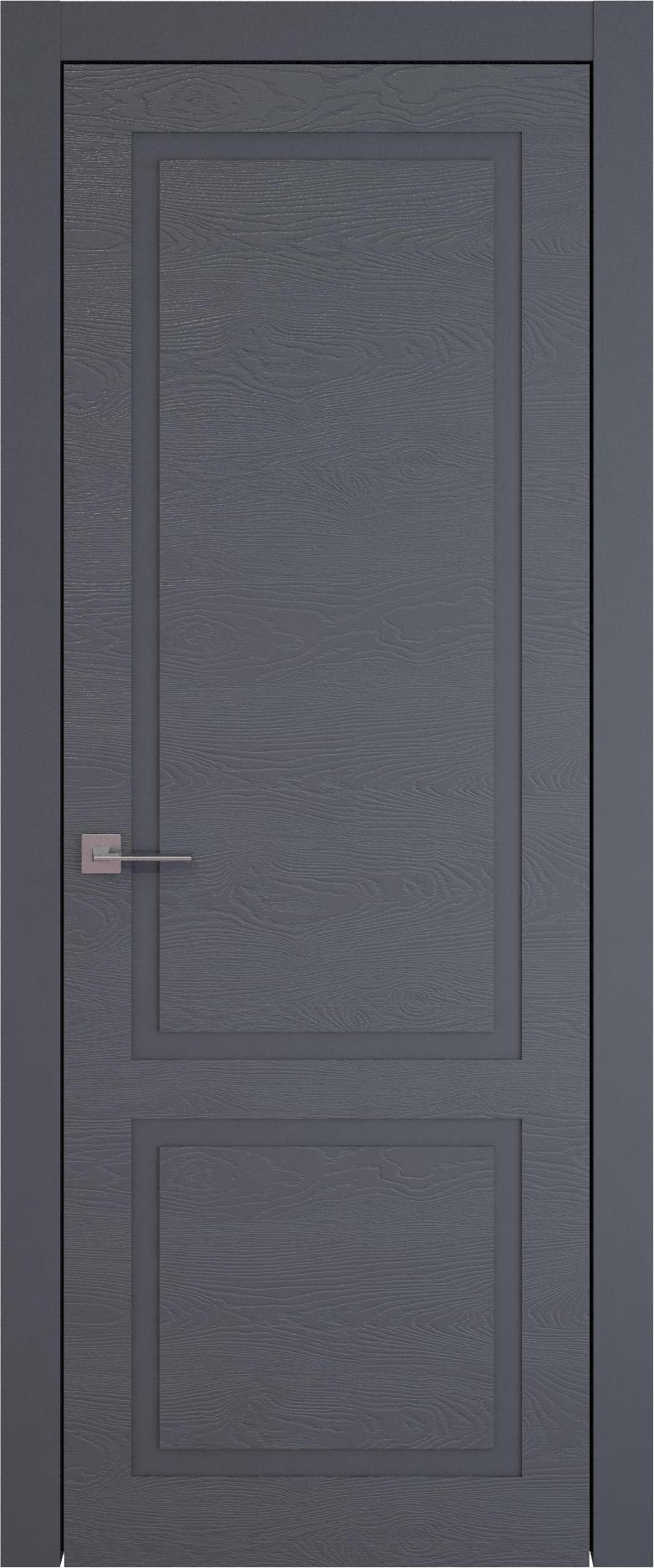 Tivoli И-5 цвет - Графитово-серая эмаль по шпону (RAL 7024) Без стекла (ДГ)