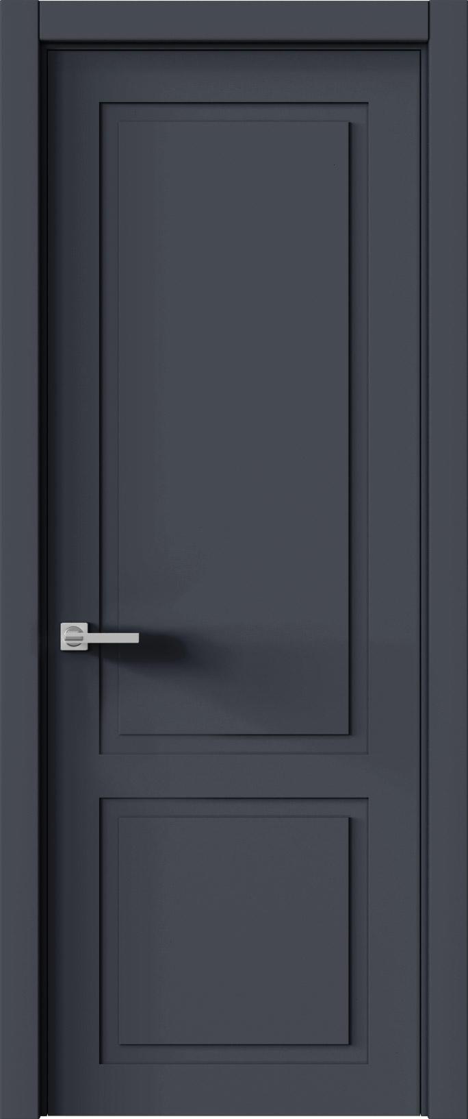Tivoli И-5 цвет - Графитово-серая эмаль (RAL 7024) Без стекла (ДГ)