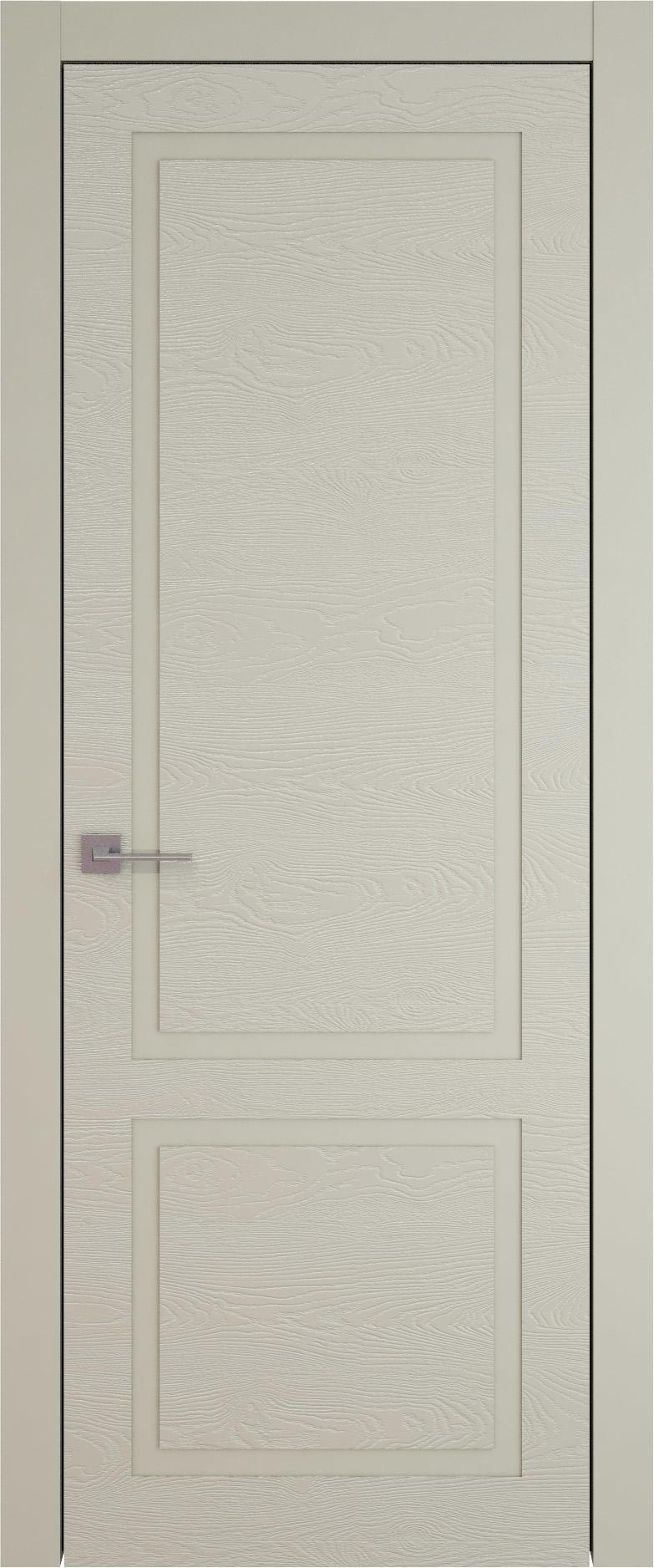 Tivoli И-5 цвет - Серо-оливковая эмаль по шпону (RAL 7032) Без стекла (ДГ)