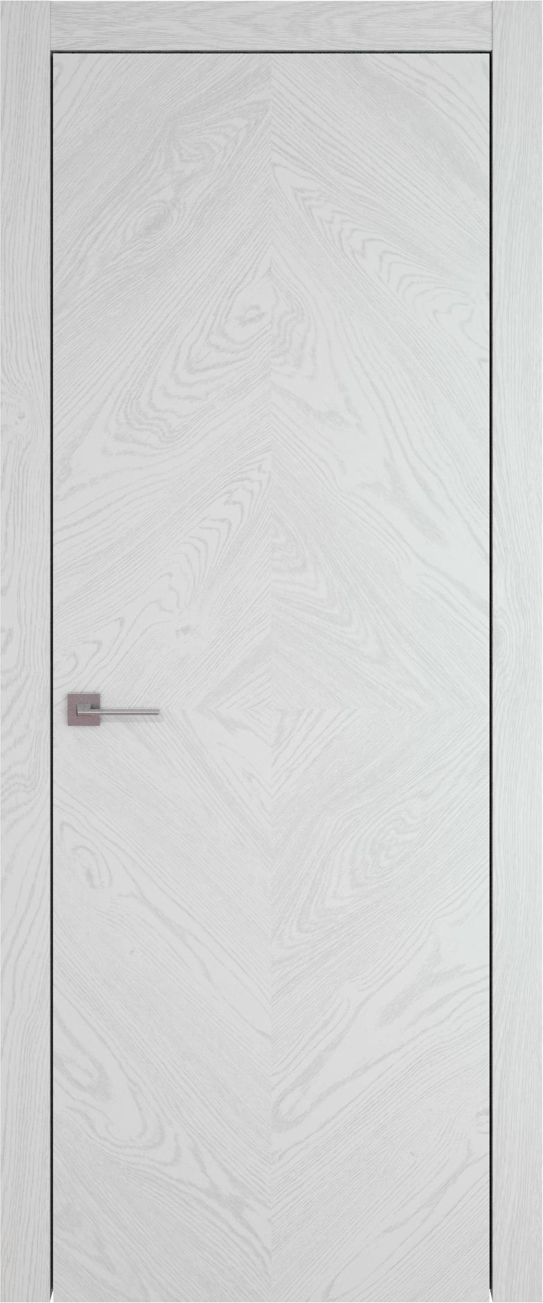 Tivoli К-1 цвет - Белый ясень (шпон) Без стекла (ДГ)