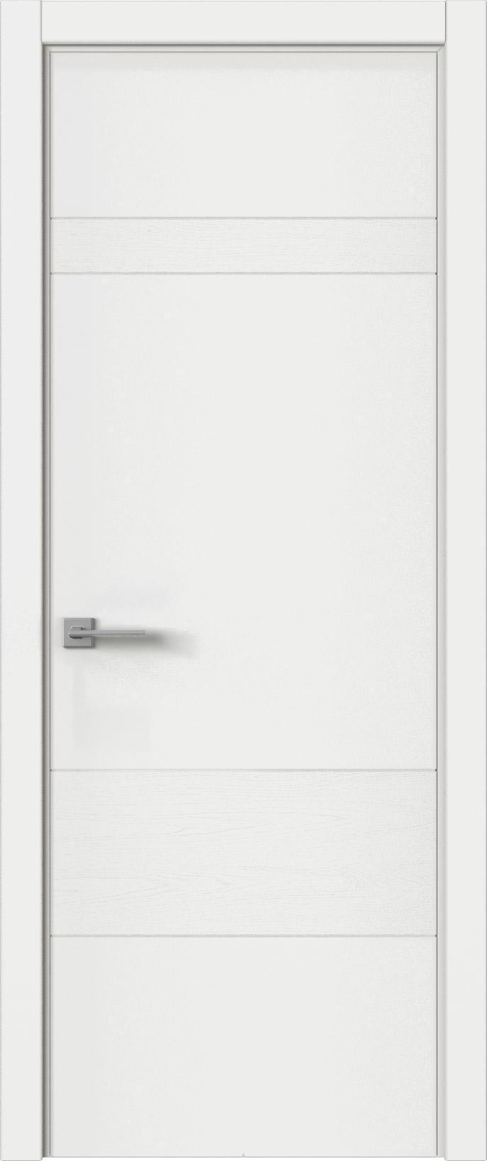 Tivoli К-2 цвет - Белая эмаль-эмаль по шпону (RAL 9003) Без стекла (ДГ)