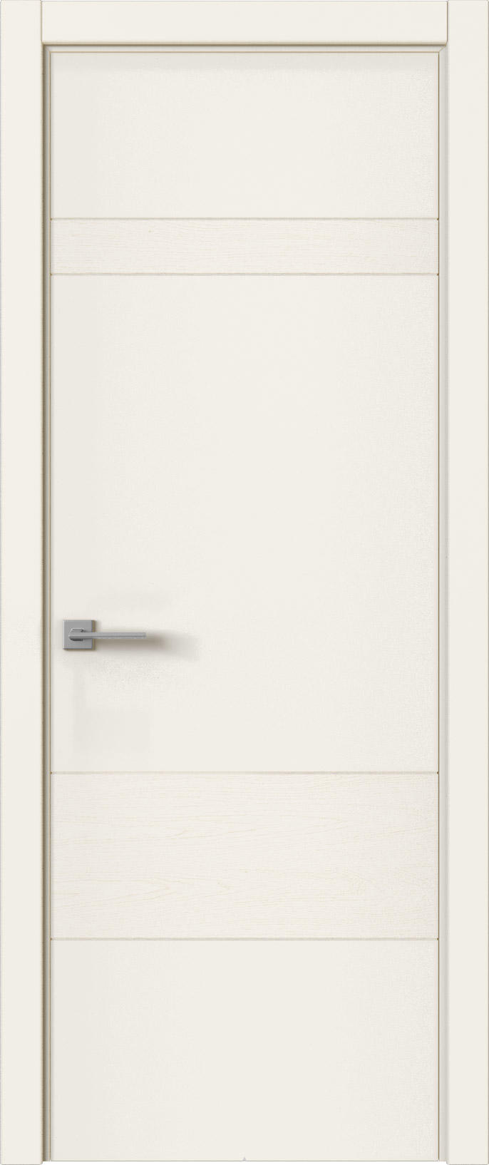 Tivoli К-2 цвет - Бежевая эмаль-эмаль по шпону (RAL 9010) Без стекла (ДГ)