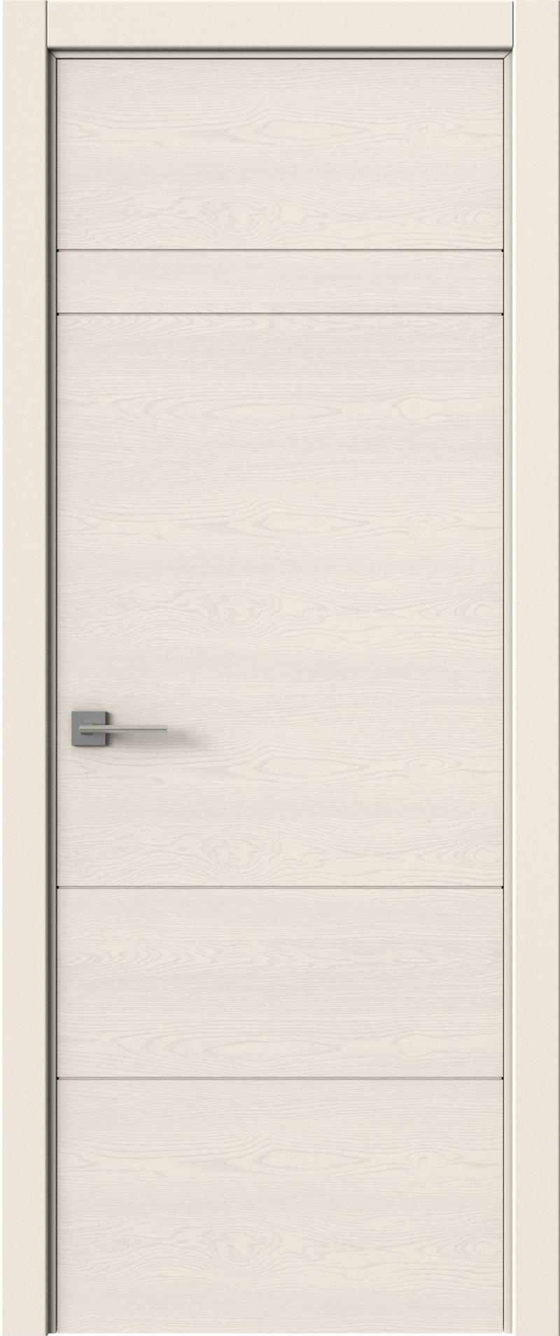Tivoli К-2 цвет - Бежевая эмаль по шпону (RAL 9010) Без стекла (ДГ)