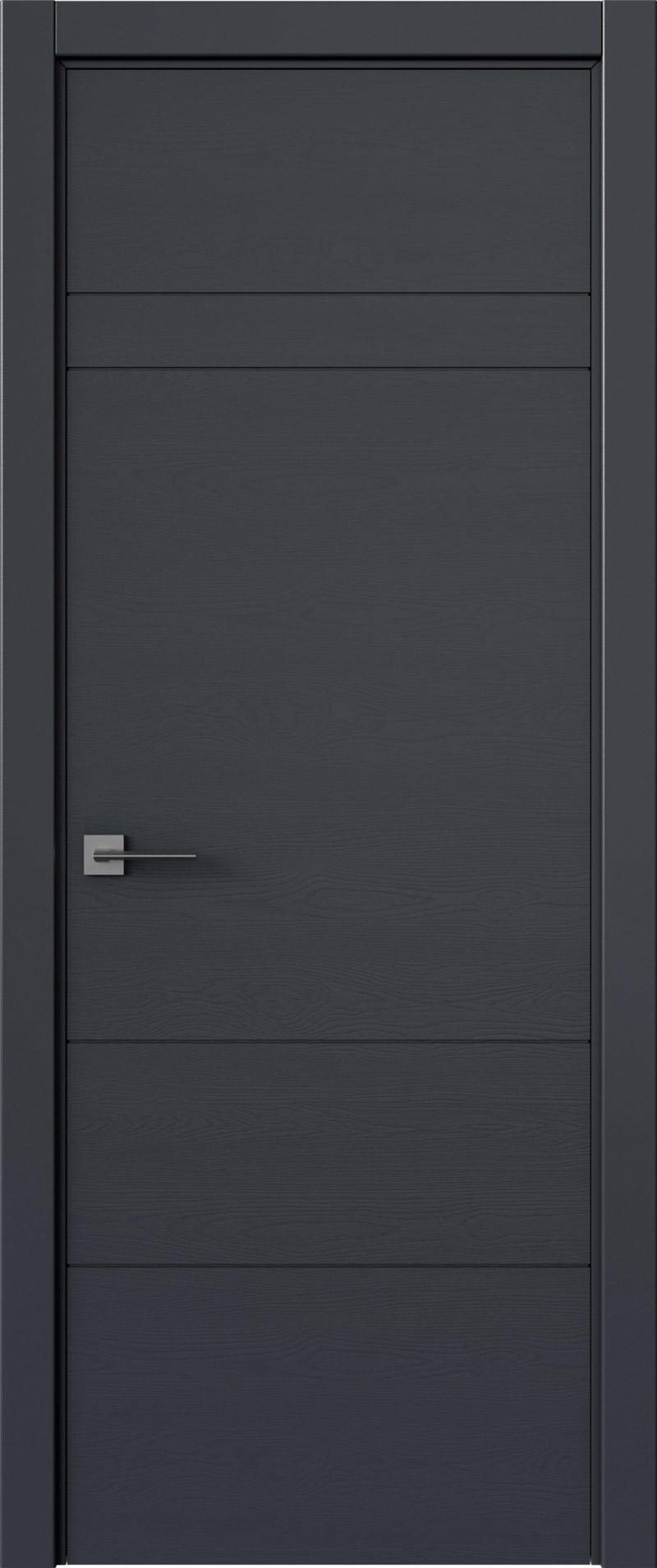 Tivoli К-2 цвет - Графитово-серая эмаль по шпону (RAL 7024) Без стекла (ДГ)