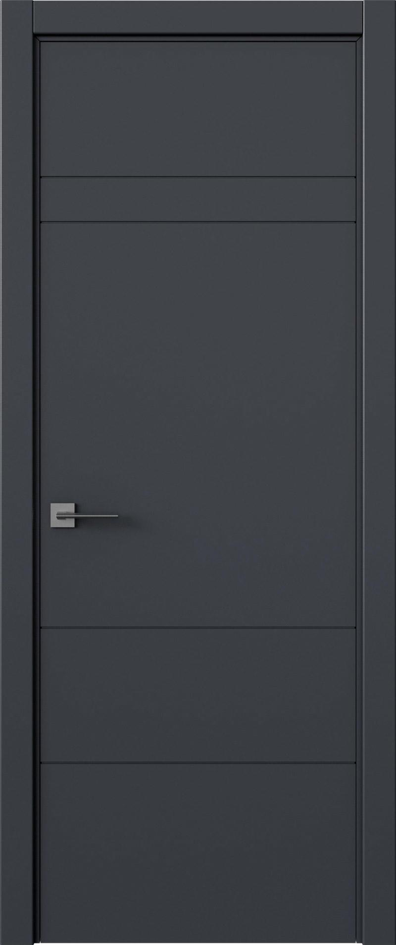 Tivoli К-2 цвет - Графитово-серая эмаль (RAL 7024) Без стекла (ДГ)
