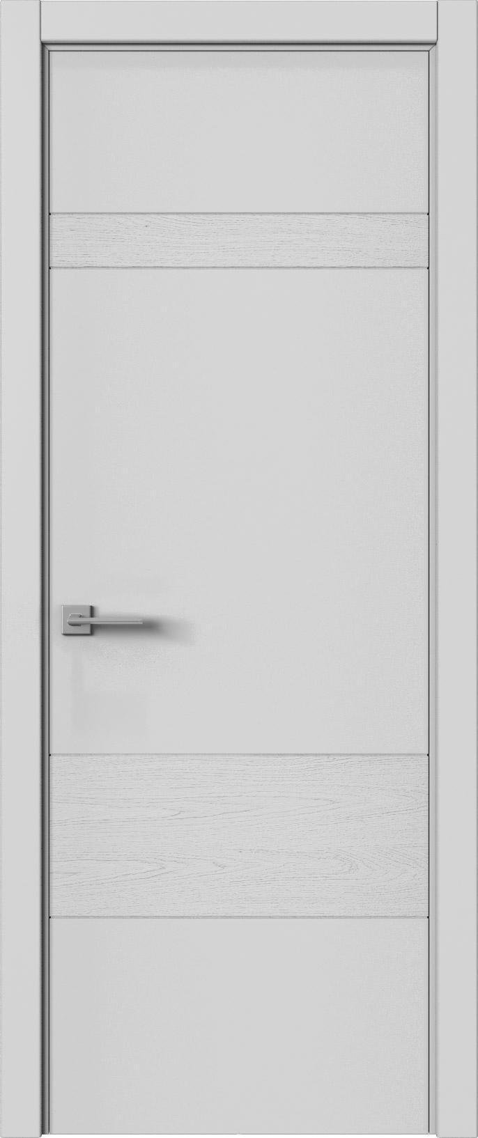 Tivoli К-2 цвет - Серая эмаль-эмаль по шпону (RAL 7047) Без стекла (ДГ)