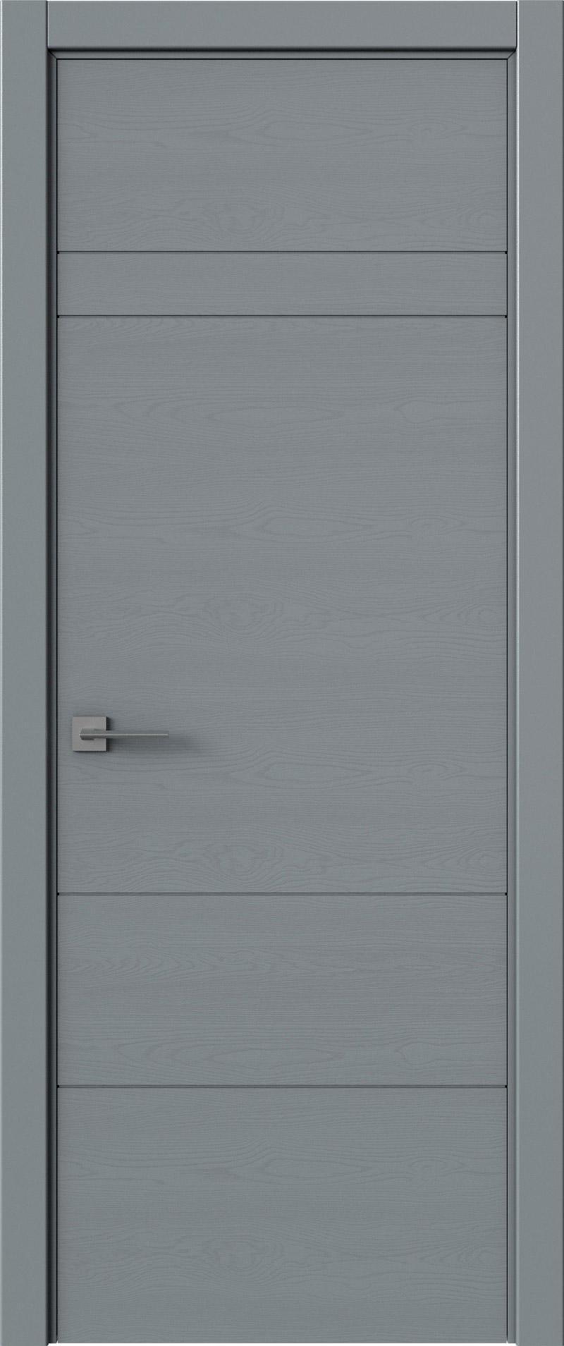 Tivoli К-2 цвет - Серебристо-серая эмаль по шпону (RAL 7045) Без стекла (ДГ)