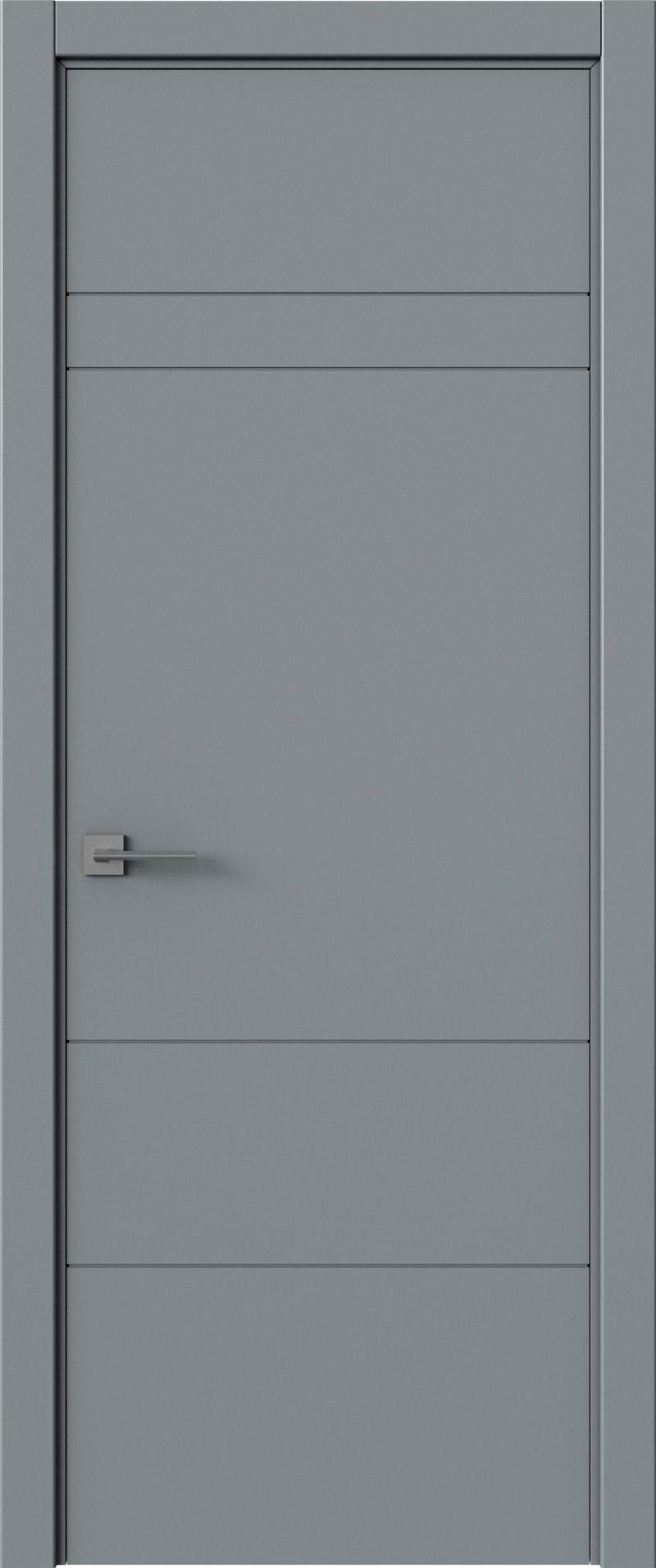 Tivoli К-2 цвет - Серебристо-серая эмаль (RAL 7045) Без стекла (ДГ)