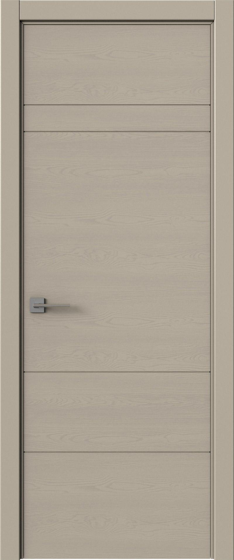 Tivoli К-2 цвет - Серо-оливковая эмаль по шпону (RAL 7032) Без стекла (ДГ)