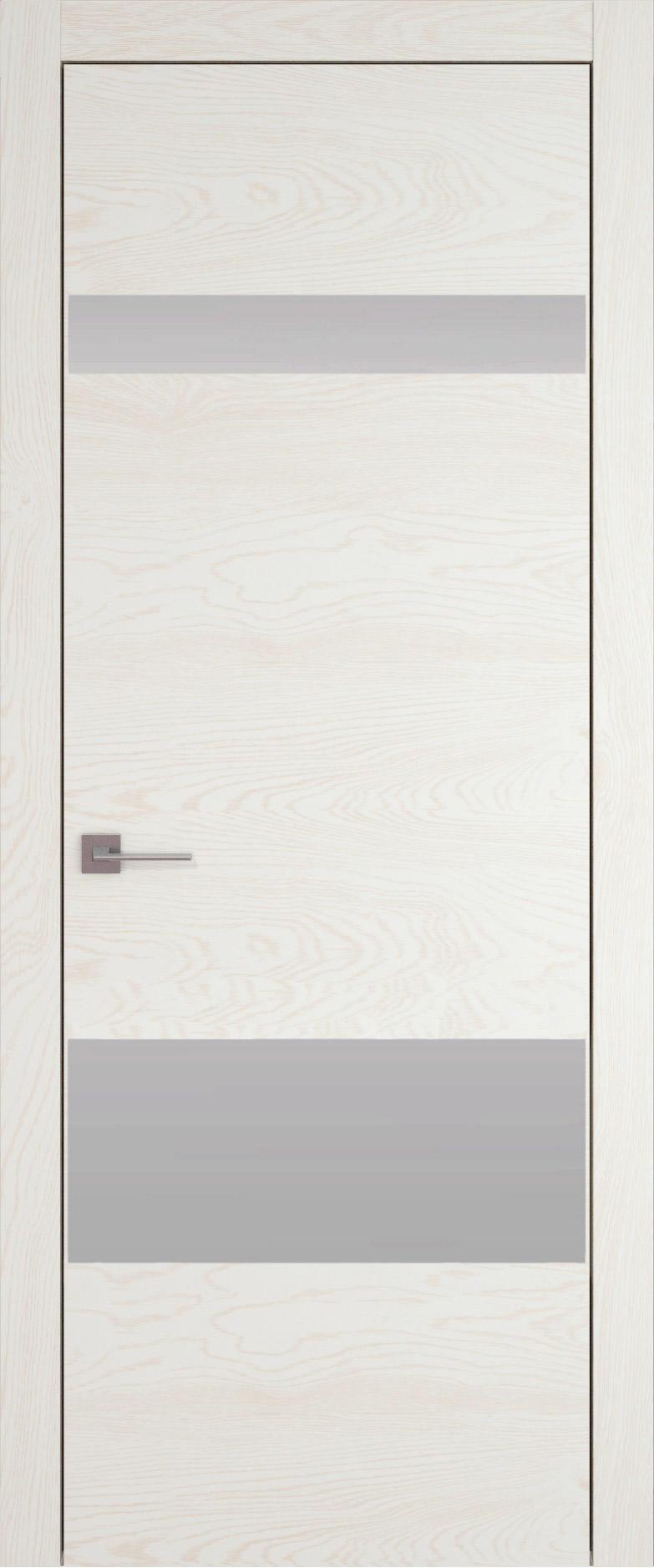 Tivoli К-4 цвет - Белый ясень (nano-flex) Без стекла (ДГ)