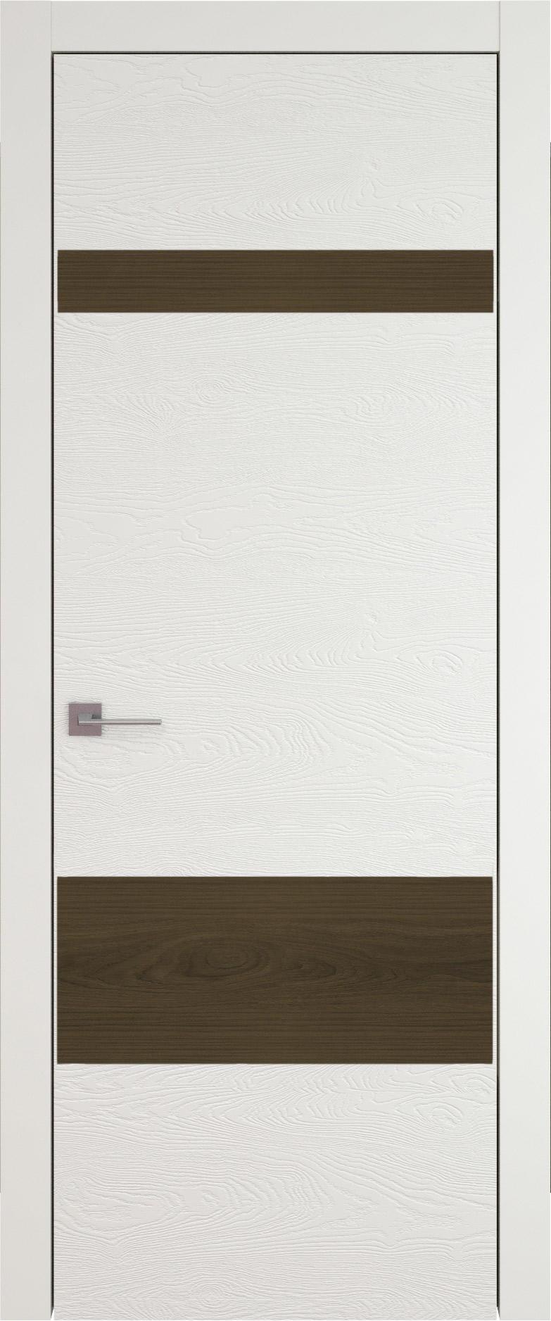 Tivoli К-4 цвет - Бежевая эмаль по шпону (RAL 9010) Без стекла (ДГ)