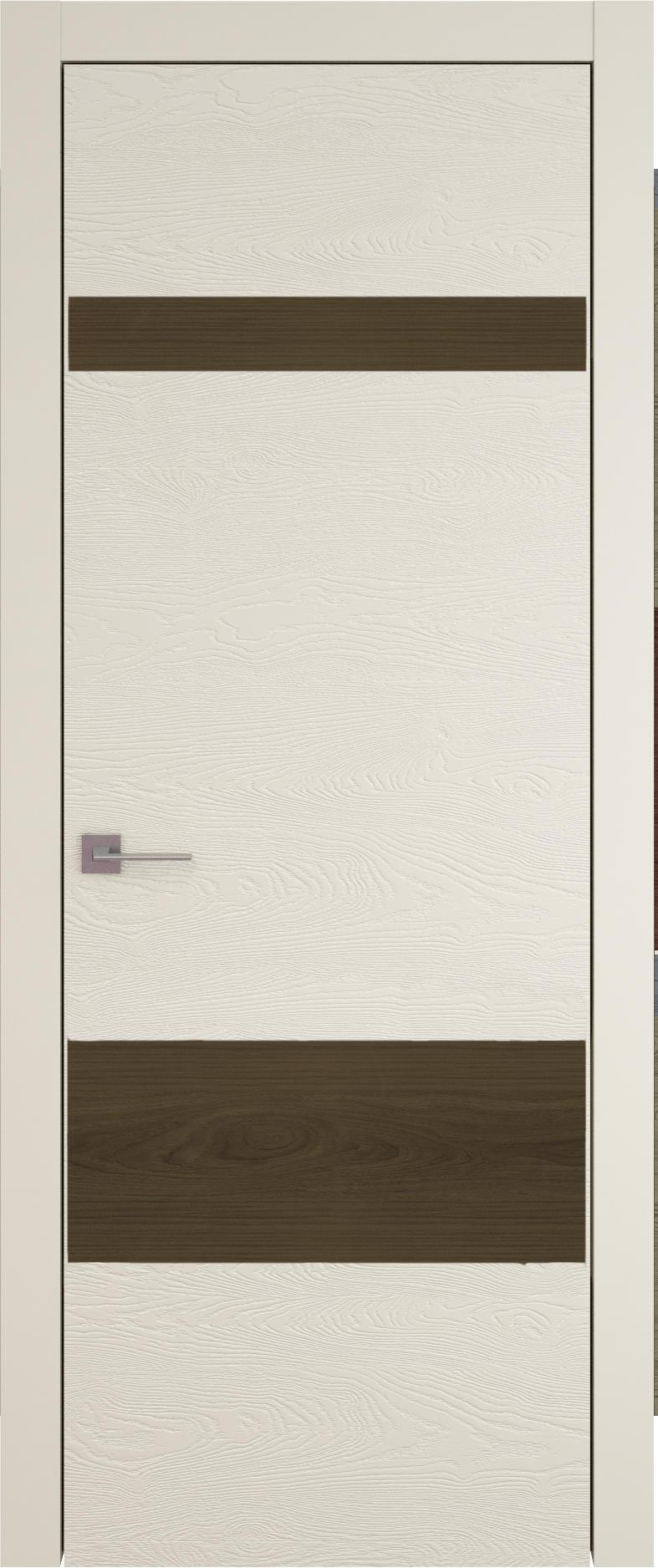 Tivoli К-4 цвет - Жемчужная эмаль по шпону (RAL 1013) Без стекла (ДГ)