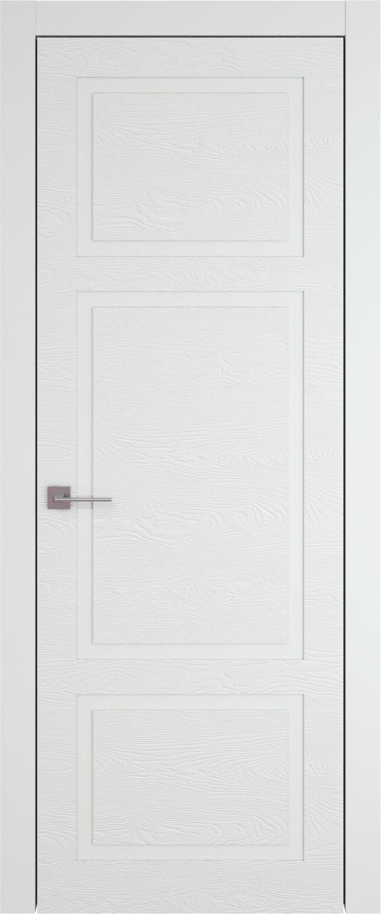 Tivoli К-5 цвет - Белая эмаль по шпону (RAL 9003) Без стекла (ДГ)