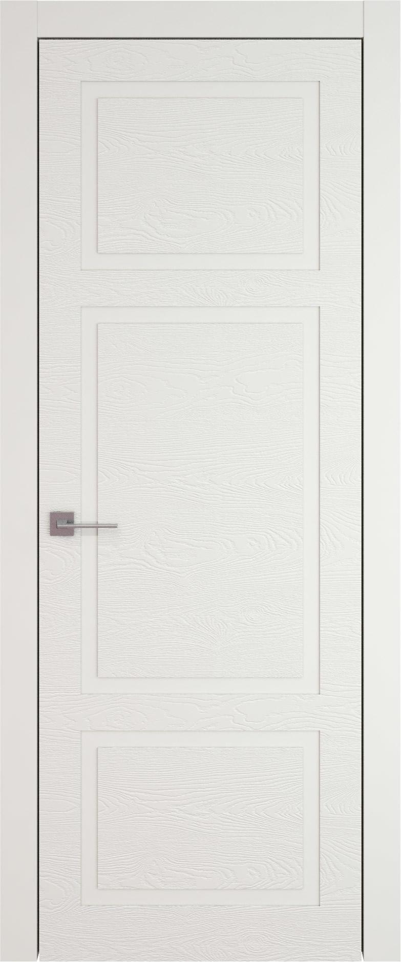 Tivoli К-5 цвет - Бежевая эмаль по шпону (RAL 9010) Без стекла (ДГ)
