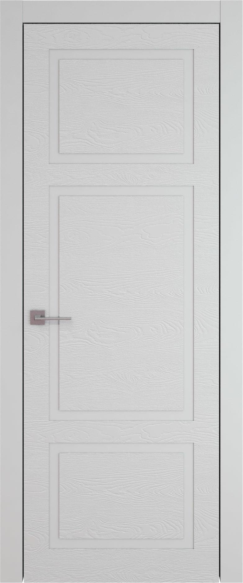 Tivoli К-5 цвет - Серая эмаль по шпону (RAL 7047) Без стекла (ДГ)