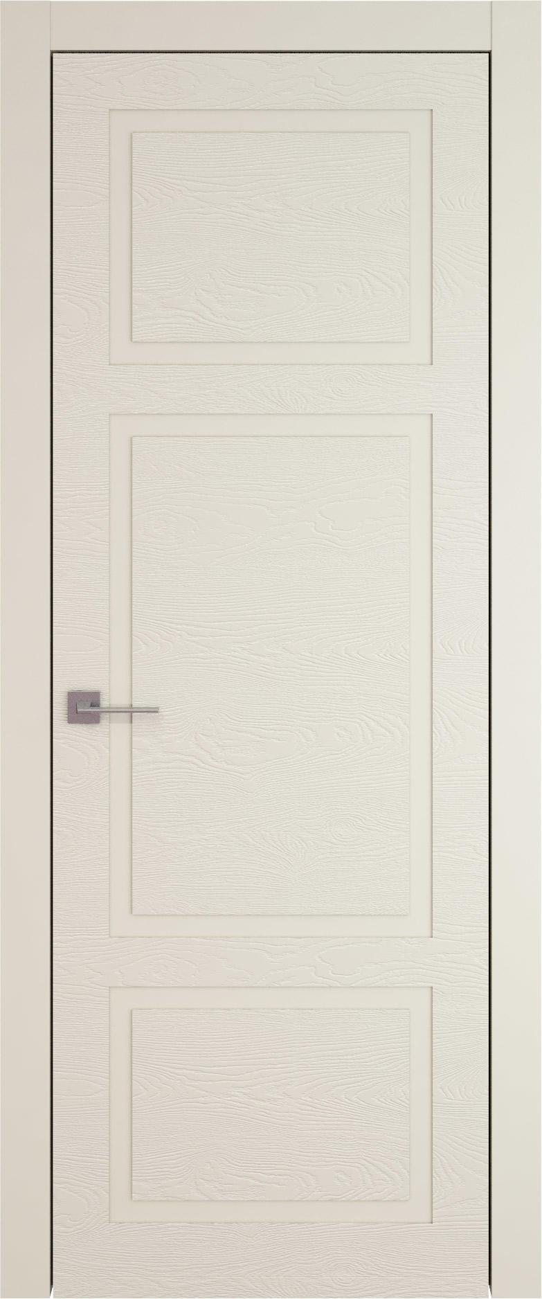 Tivoli К-5 цвет - Жемчужная эмаль по шпону (RAL 1013) Без стекла (ДГ)