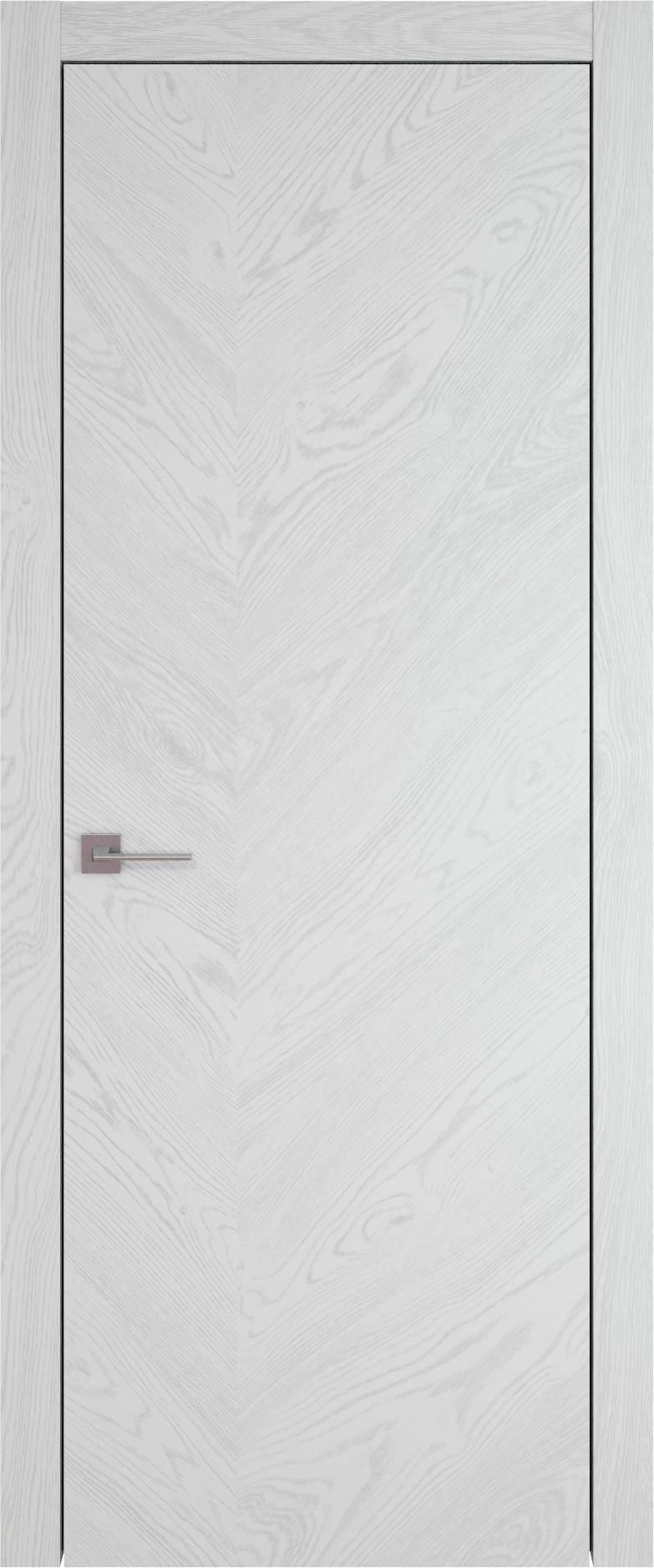 Tivoli Л-1 цвет - Белый ясень (шпон) Без стекла (ДГ)