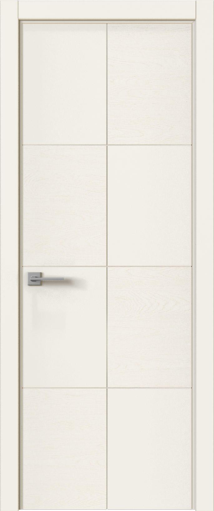 Tivoli Л-2 цвет - Бежевая эмаль-эмаль по шпону (RAL 9010) Без стекла (ДГ)