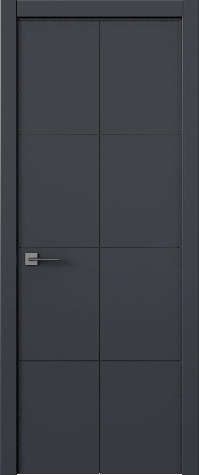 Tivoli Л-2 цвет - Графитово-серая эмаль (RAL 7024) Без стекла (ДГ)
