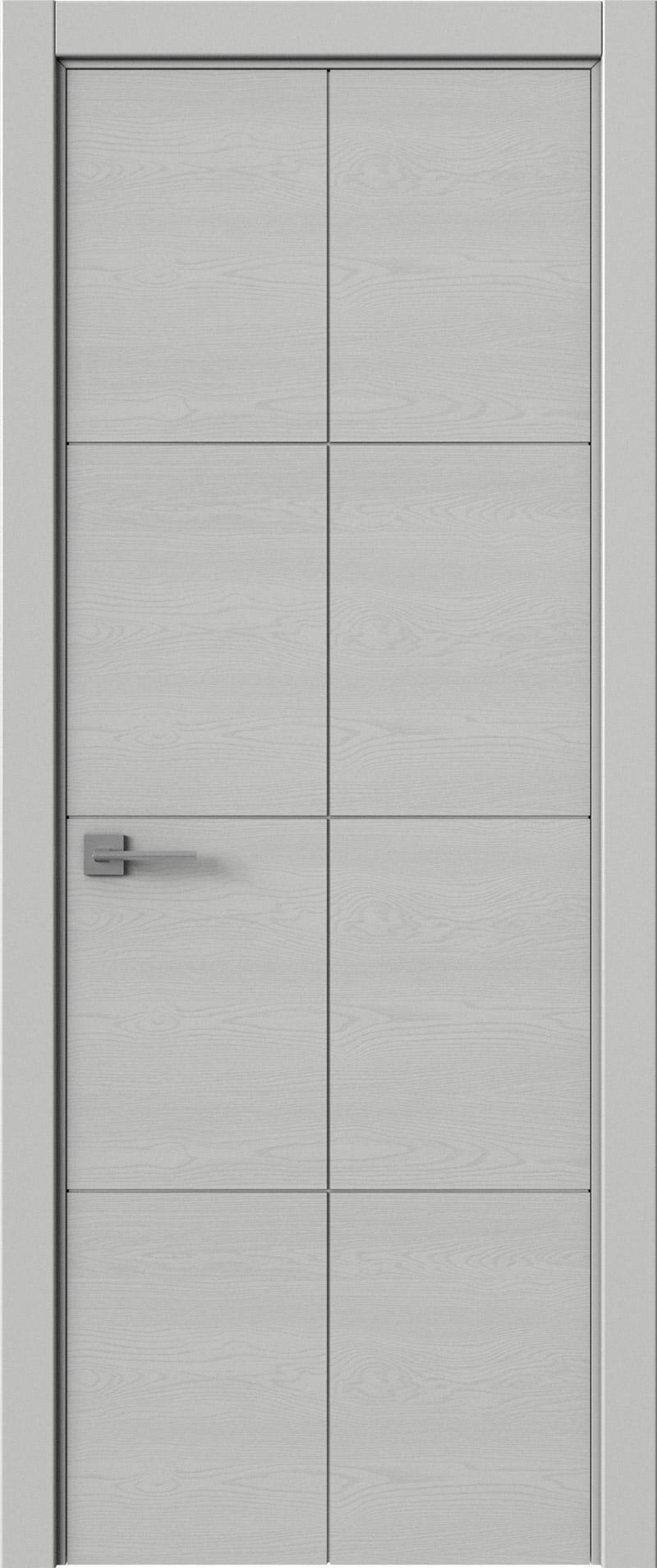 Tivoli Л-2 цвет - Серая эмаль по шпону (RAL 7047) Без стекла (ДГ)
