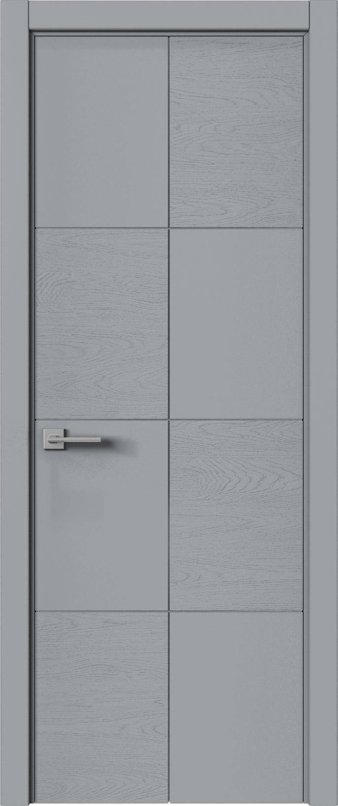 Tivoli Л-2 цвет - Серебристо-серая эмаль-эмаль по шпону (RAL 7045) Без стекла (ДГ)