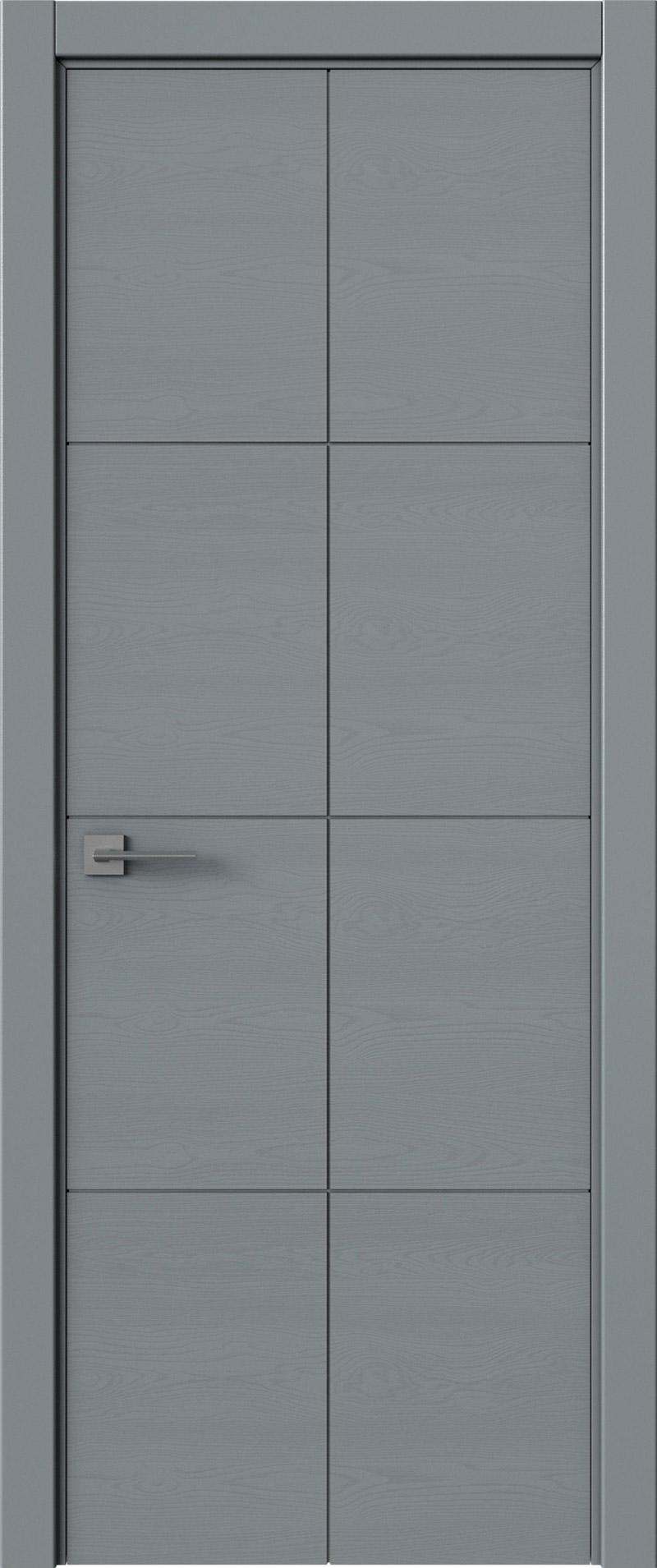 Tivoli Л-2 цвет - Серебристо-серая эмаль по шпону (RAL 7045) Без стекла (ДГ)