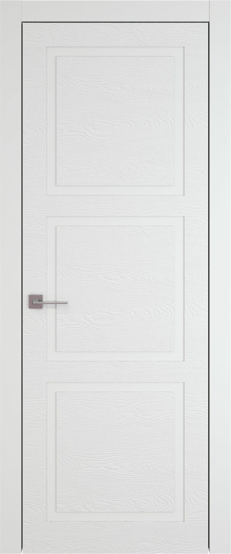 Tivoli Л-5 цвет - Белая эмаль по шпону (RAL 9003) Без стекла (ДГ)