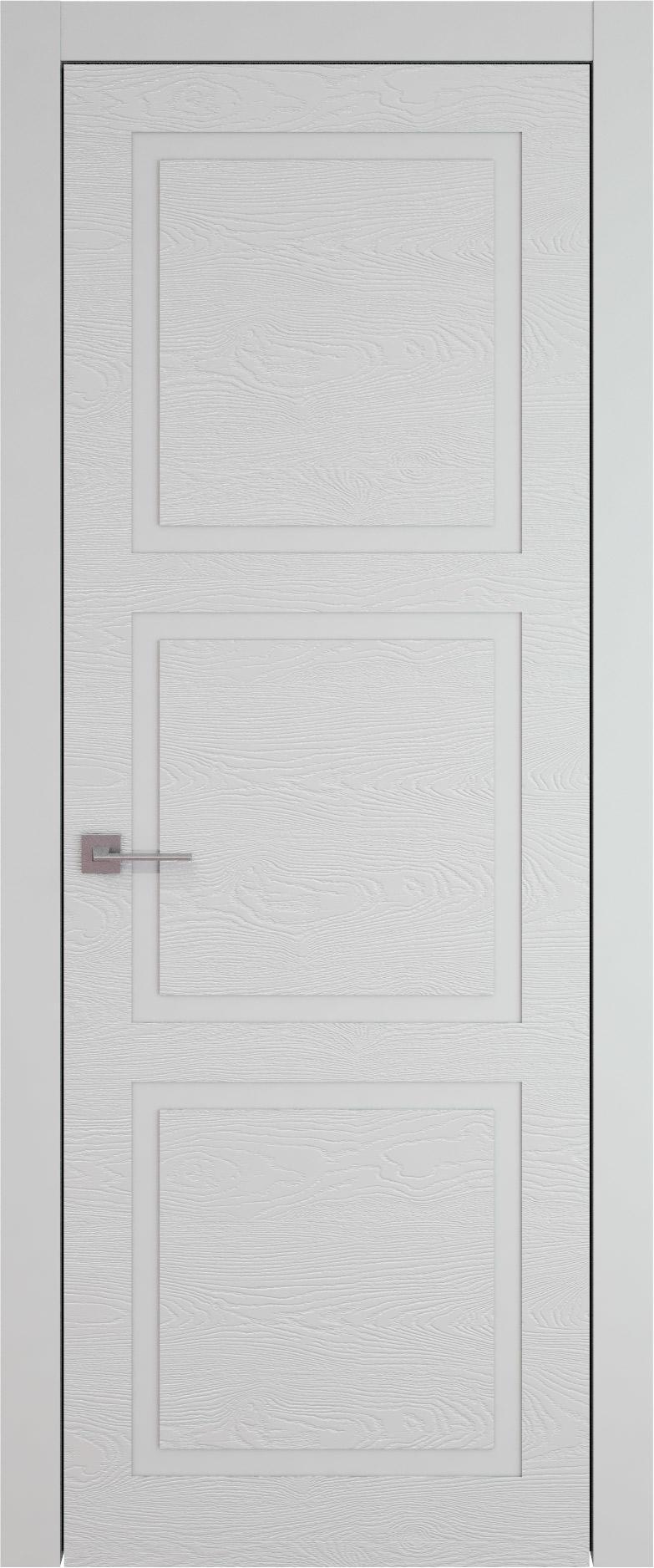 Tivoli Л-5 цвет - Серая эмаль по шпону (RAL 7047) Без стекла (ДГ)
