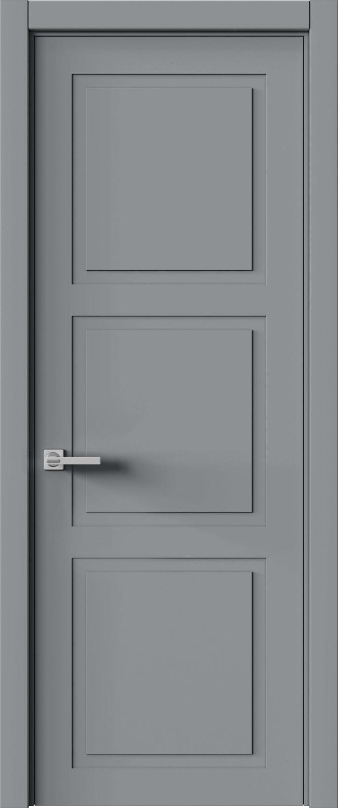 Tivoli Л-5 цвет - Серебристо-серая эмаль (RAL 7045) Без стекла (ДГ)
