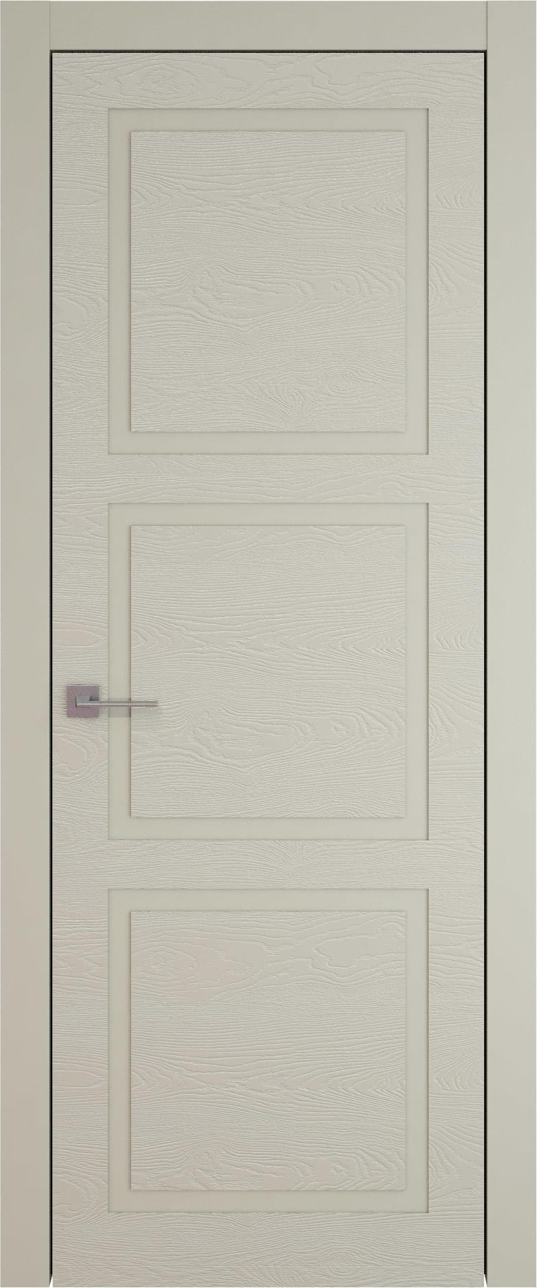 Tivoli Л-5 цвет - Серо-оливковая эмаль по шпону (RAL 7032) Без стекла (ДГ)