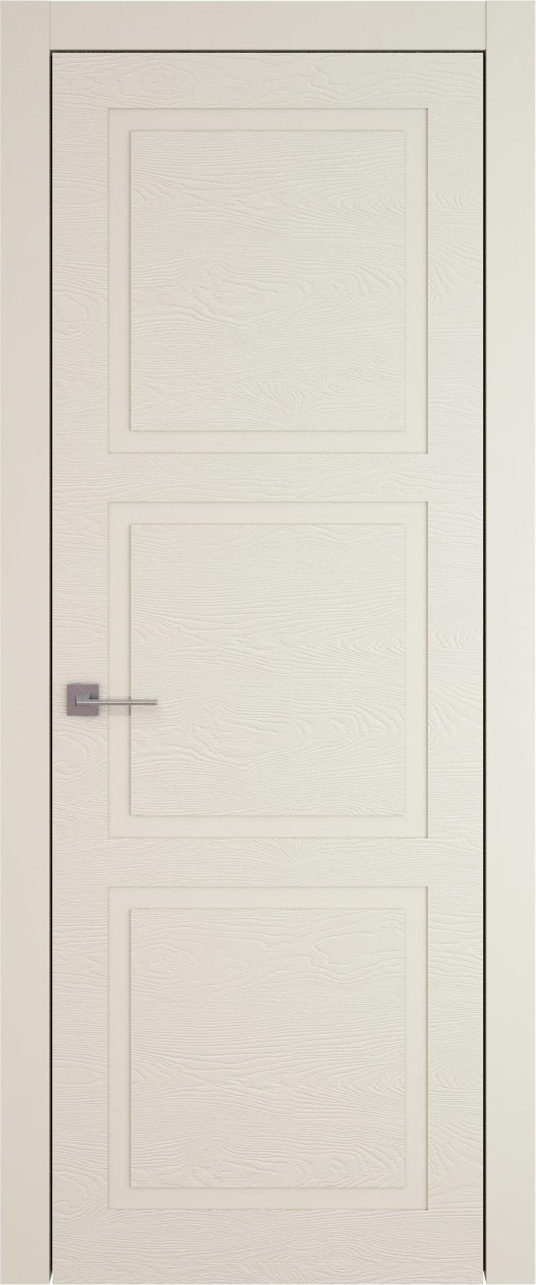 Tivoli Л-5 цвет - Жемчужная эмаль по шпону (RAL 1013) Без стекла (ДГ)