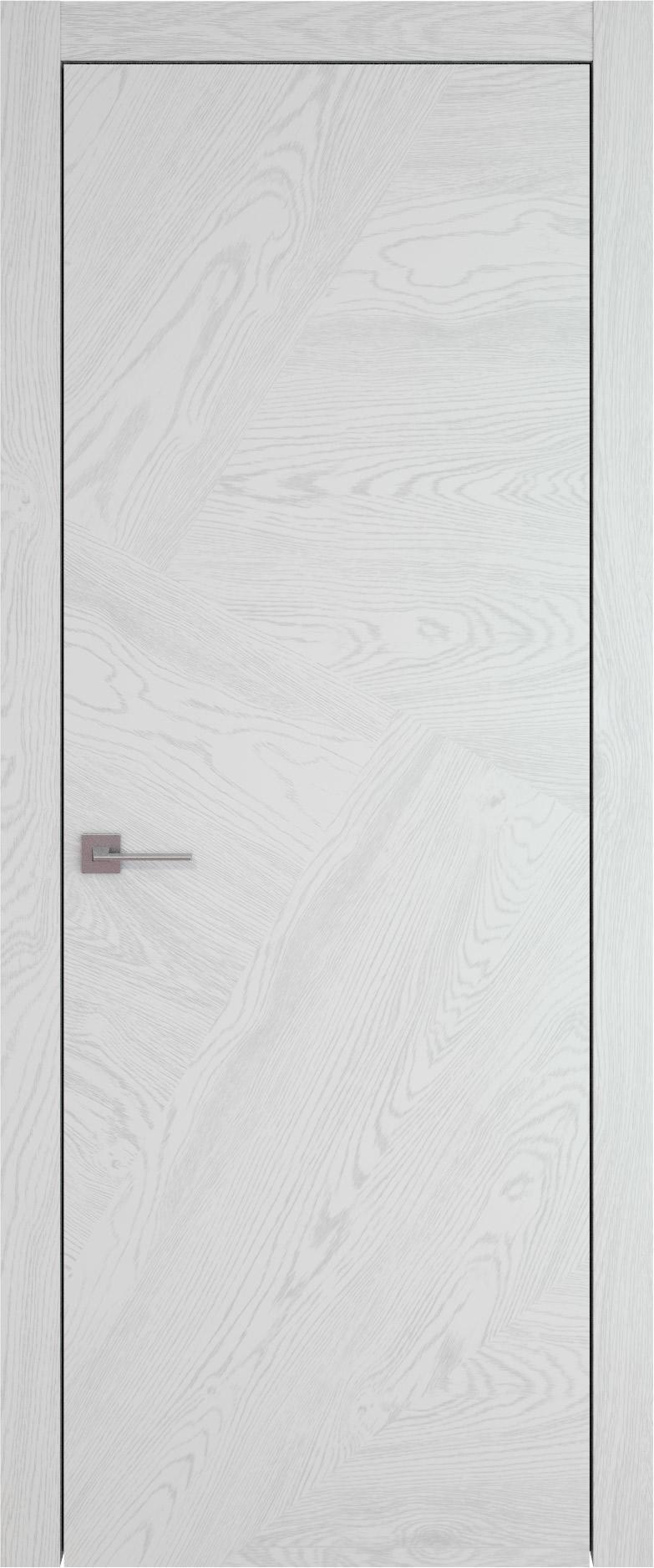 Tivoli М-1 цвет - Белый ясень (шпон) Без стекла (ДГ)