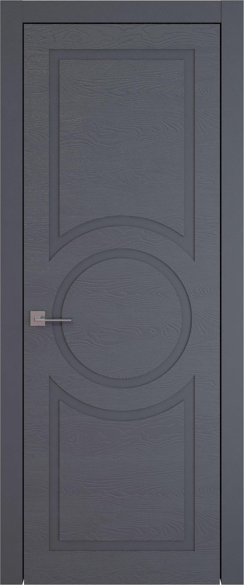 Tivoli М-5 цвет - Графитово-серая эмаль по шпону (RAL 7024) Без стекла (ДГ)
