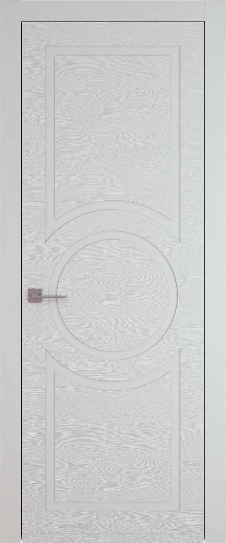 Tivoli М-5 цвет - Серая эмаль по шпону (RAL 7047) Без стекла (ДГ)