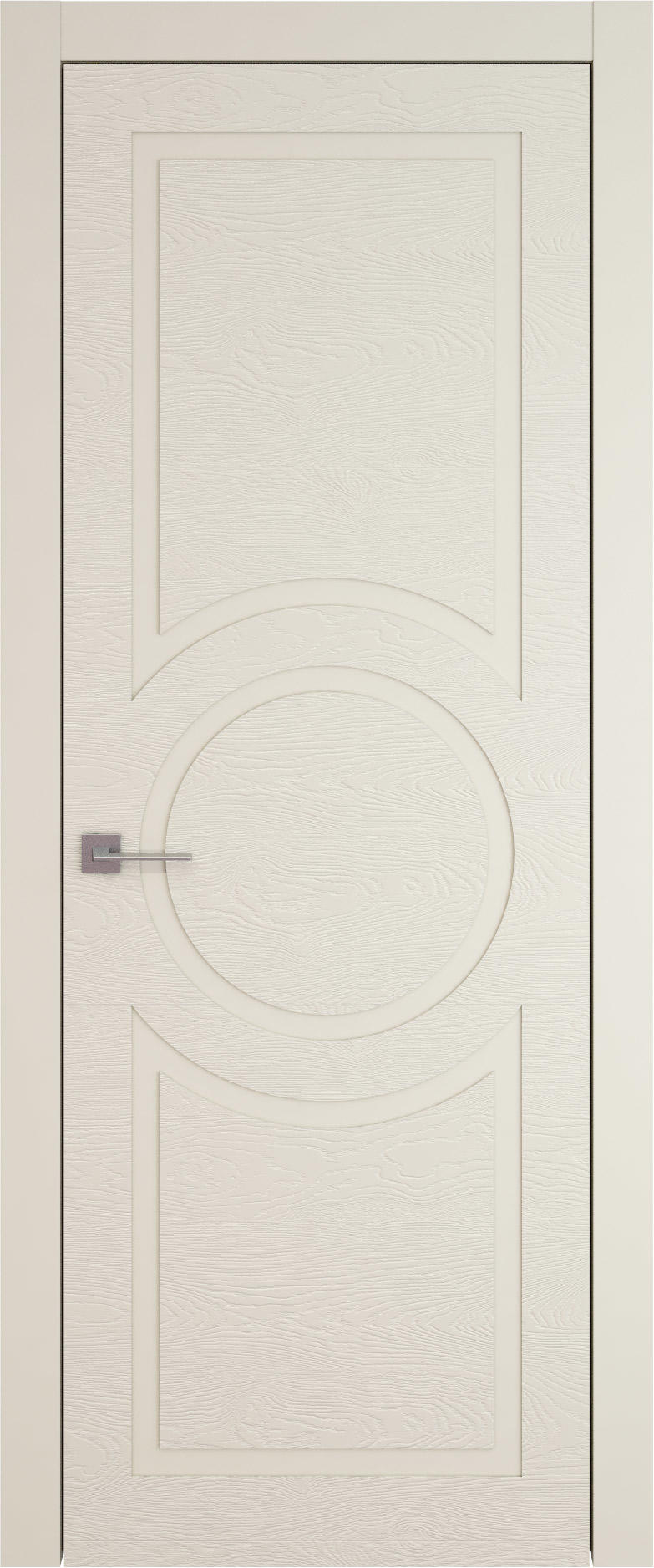 Tivoli М-5 цвет - Жемчужная эмаль по шпону (RAL 1013) Без стекла (ДГ)