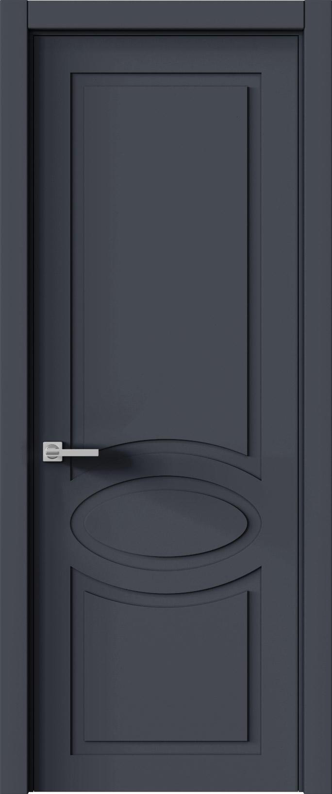 Tivoli Н-5 цвет - Графитово-серая эмаль (RAL 7024) Без стекла (ДГ)
