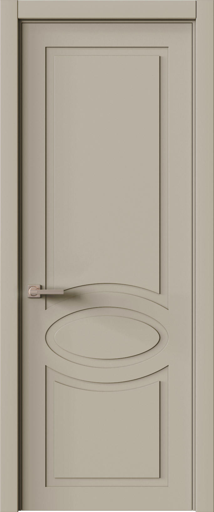 Tivoli Н-5 цвет - Серо-оливковая эмаль (RAL 7032) Без стекла (ДГ)