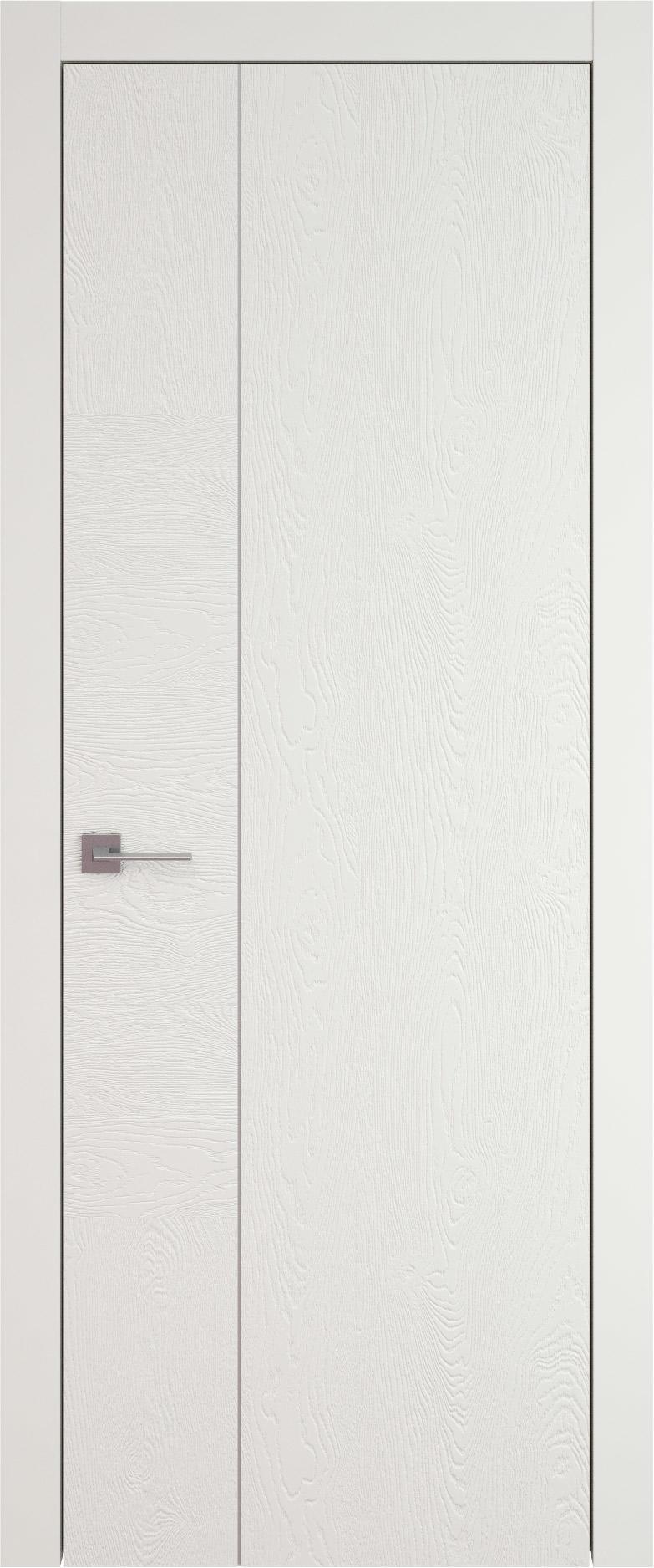 Tivoli В-1 цвет - Бежевая эмаль по шпону (RAL 9010) Без стекла (ДГ)