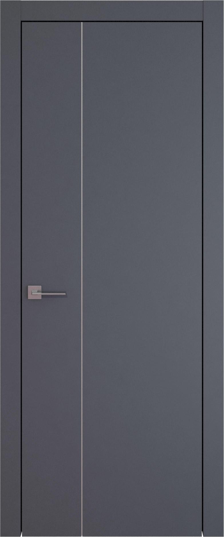 Tivoli В-1 цвет - Графитово-серая эмаль (RAL 7024) Без стекла (ДГ)